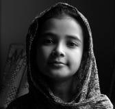 Preety flicka fotografering för bildbyråer