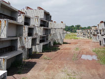 Prefab concrete blocks Royalty Free Stock Images