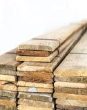Prefabricated slat stacked ready use Stock Photography