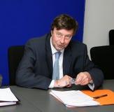Prefect's Jean-Francois Delage Royalty Free Stock Photo