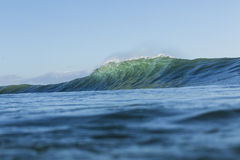 The prefect wave Royalty Free Stock Image
