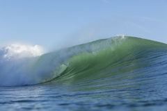 The prefect wave Stock Photography