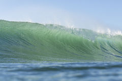 The prefect wave Royalty Free Stock Photos