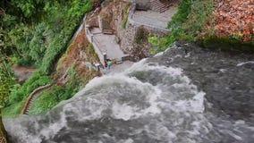 Prefectura de EÎ'εσσα Pella de las cascadas de Edessa, Macedonia, Grecia metrajes