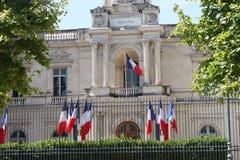 Prefectura francesa du Gard Fotos de archivo libres de regalías