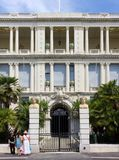 Prefecture Palace in Nice, France stock images