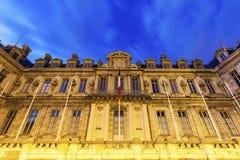 Prefectuur DE l ` Isere op Plaats DE Verdun in Grenoble stock foto's