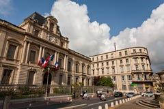 Prefectuur in Montpellier royalty-vrije stock afbeeldingen