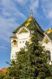 Prefectuur van Mures in Targu Mures, Roemenië royalty-vrije stock afbeeldingen