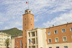 Prefectuur van Ventimiglia, Italië stock fotografie