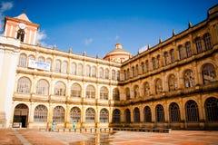 Prefeito de San Bartolomé de Colegio, universidade Bogotá da escola Fotos de Stock Royalty Free