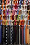 For the preference the ties. Set of neckties Royalty Free Stock Photography