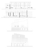 Prefessional house plans Stock Image