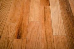 Prefinished hardwood floor Royalty Free Stock Photo