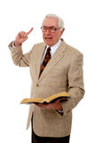 Pregador ardente imagem de stock royalty free