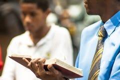 Pregador evangélico fotos de stock royalty free