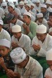 Pregando nella fratellanza Fotografia Stock Libera da Diritti