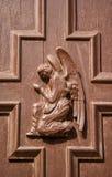 Pregare angelo Immagini Stock