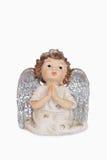 Pregare angelo Immagini Stock Libere da Diritti