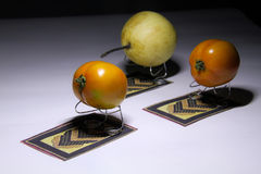Pregare frutti Fotografia Stock