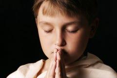 Preghi Immagine Stock Libera da Diritti