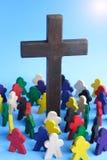 Preghi immagini stock