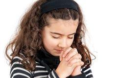 Preghi Fotografie Stock Libere da Diritti