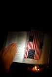 Preghi per la nostra nazione Immagine Stock Libera da Diritti