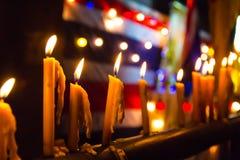 Preghi per la Tailandia fotografie stock libere da diritti