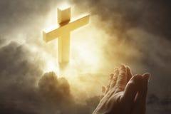 Preghiera Fotografia Stock