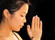 Preghiera Immagine Stock