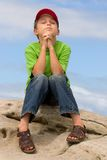Preghiera Fotografia Stock Libera da Diritti