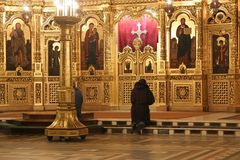 Preghiera fotografie stock