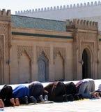 Preghiera dei musulmani Fotografia Stock