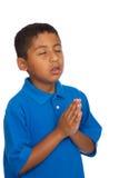 Preghiera del bambino Fotografia Stock