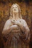 Preghiera della donna illustrazione vettoriale
