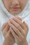 Preghiera della giovane donna Fotografia Stock Libera da Diritti