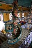 Preghiera delle rane pescarici Fotografia Stock
