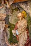 Preghiera di Gesù Cristo fotografia stock