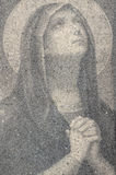 Preghiera di vergine Maria Fotografia Stock Libera da Diritti