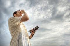 Preghiera ebrea immagini stock libere da diritti
