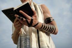 Preghiera ebrea fotografie stock