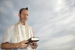 Preghiera ebrea Fotografie Stock Libere da Diritti