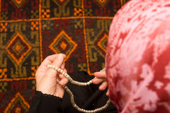 Preghiera islamica Fotografie Stock Libere da Diritti