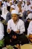 Preghiera musulmana Fotografia Stock