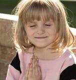 Preghiere del sole Fotografia Stock