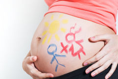 Pregnancy Stock Image