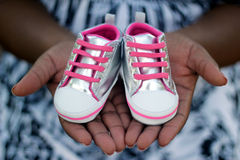 Pregnancy Announcment Royalty Free Stock Images