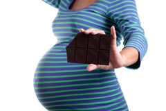 Pregnancy appetite Royalty Free Stock Image