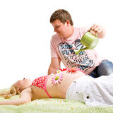 Pregnancy Care Stock Photo